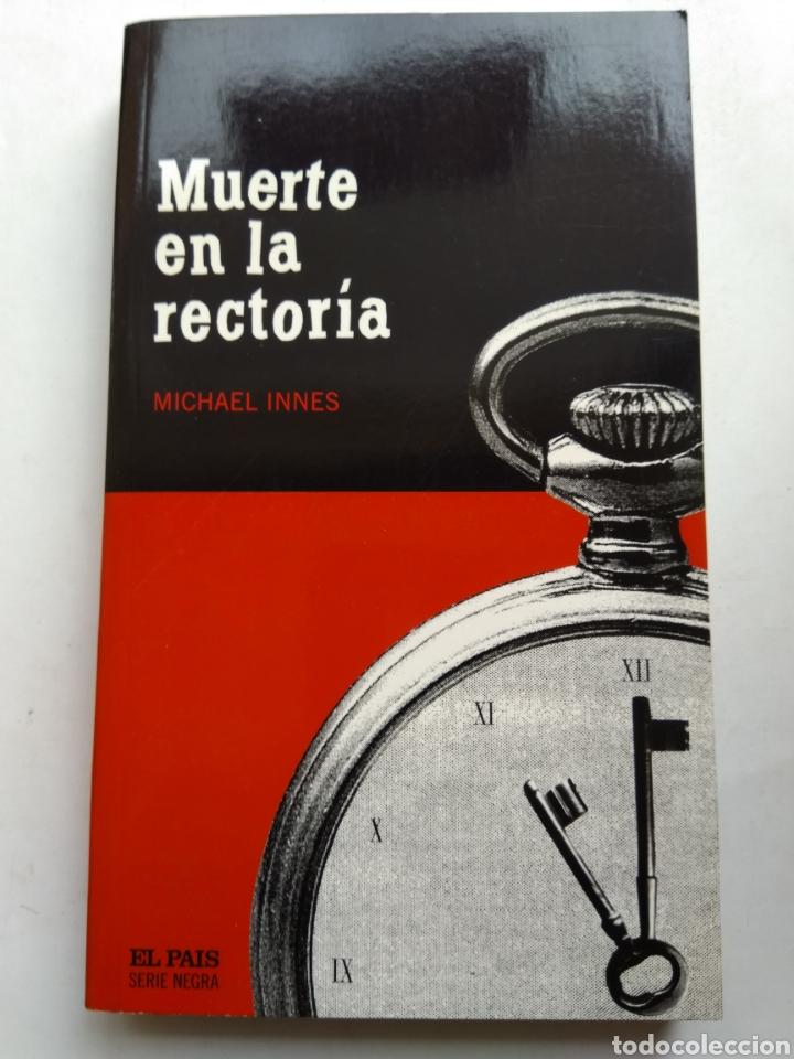 MUERTE EN LA RECTORIA/MICHAEL INNES (Libros de segunda mano (posteriores a 1936) - Literatura - Narrativa - Terror, Misterio y Policíaco)