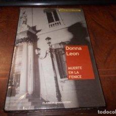 Libros de segunda mano: MUERTE EN LA FENICE, DONNA LEON. NOVELA NEGRA ACTUAL. PLANETA DEAGOSTINI, PRECINTADO. Lote 195498817