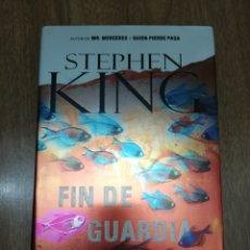 Libros de segunda mano: FIN DE GUARDIA DE STEPHEN KING TAPA DURA. Lote 195499236