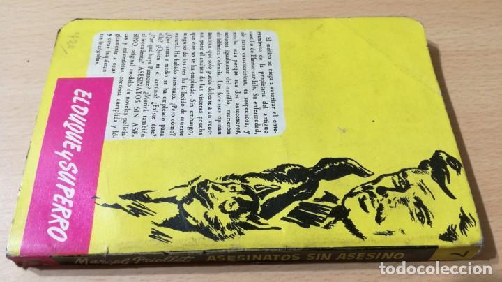 Libros de segunda mano: ASESINATOS SIN ASESINO - MARCEL PRIOLLET - EL DUQUE Y SU PERRO - MOLINOM101 - Foto 2 - 197047272