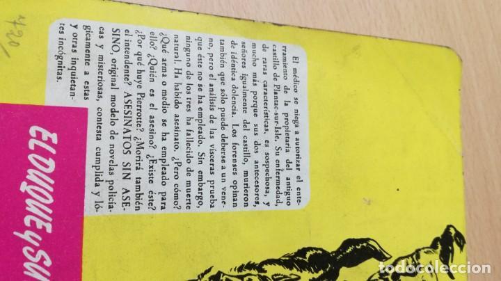 Libros de segunda mano: ASESINATOS SIN ASESINO - MARCEL PRIOLLET - EL DUQUE Y SU PERRO - MOLINOM101 - Foto 3 - 197047272