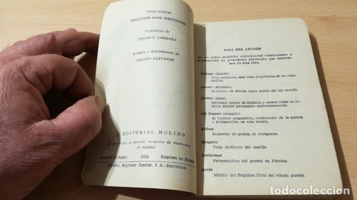 Libros de segunda mano: ASESINATOS SIN ASESINO - MARCEL PRIOLLET - EL DUQUE Y SU PERRO - MOLINOM101 - Foto 5 - 197047272