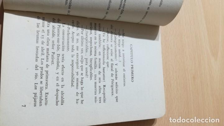 Libros de segunda mano: ASESINATOS SIN ASESINO - MARCEL PRIOLLET - EL DUQUE Y SU PERRO - MOLINOM101 - Foto 6 - 197047272
