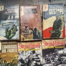Libros de segunda mano: LOTE 6 LIBROS SVEN HASSEL. Lote 197708297