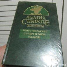 Libros de segunda mano: AGATHA CHRISTIE, OBRAS COMPLETAS N. 9 , ORBIS. Lote 199258393
