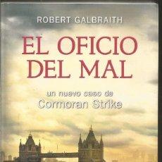Livres d'occasion: ROBERT GALBRAITH. EL OFICIO DEL MAL. SALAMANDRA. Lote 199377355