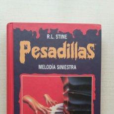 Libros de segunda mano: MELODÍA SINIESTRA. LA REPUGNANTE CARA DEL TERROR. R.L. STINE. CÍRCULO DE LECTORES, 1997.. Lote 199727952