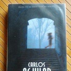Libros de segunda mano: LIBRO NUEVE COLORES SANGRA LA LUNA - CARLOS AGUILAR - AÑO 2005. Lote 199730232