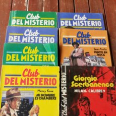Libros de segunda mano: LOTE DE 7 NOVELAS DEL CLUB DEL MISTERIO , AÑO 1983. Lote 199754366