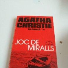 Libros de segunda mano: G-VIK22 LIBRO AGATHA CHRISTIE EN CATALA JOC DE MIRALLS. Lote 199904252