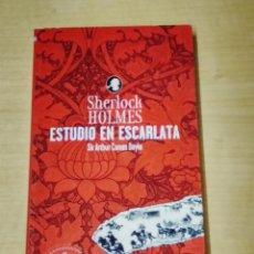 Libros de segunda mano: SHERLOCK HOLMES ESTUDIO DE ESCARLATA - SIR ARTHUR CONAN DOYLE. Lote 200084052
