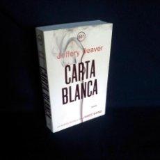Libros de segunda mano: JEFFERY DEAVER - CARTA BLANCA, LA NOVELA DE JAMES BOND - UMBRIEL EDITORES 2011. Lote 200823373