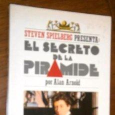 Libros de segunda mano: EL SECRETO DE LA PIRÁMIDE POR ALAN ARNOLD DE ED. VERSAL EN BARCELONA 1986. Lote 201330421