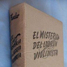 Libros de segunda mano: HARRY STEPHEN KEELER - EL MISTERIO DEL LADRON VIOLINISTA - Nº 21 - 1951 EDITORIAL REUS - EN TELA. Lote 201486887