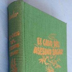 Libros de segunda mano: HARRY STEPHEN KEELER - EL CASO DEL ASESINO SAGAZ - Nº 16 - 1949 EDITORIAL REUS - CUBIERTAS EN TELA. Lote 201488018