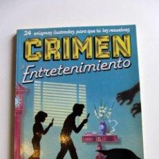 Libros de segunda mano: CRIMEN Y ENTRETENIMIENTO. LAWRENCE TREAT NUM. 3. Lote 201896086