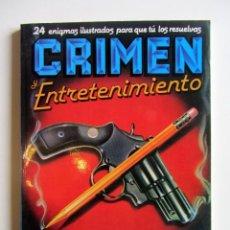 Libros de segunda mano: CRIMEN Y ENTRETENIMIENTO. LAWRENCE TREAT NUM. 2. Lote 201896163