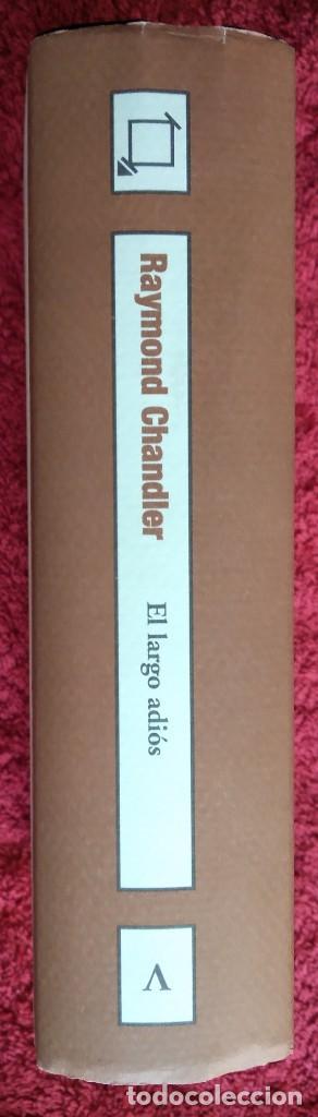 Libros de segunda mano: EL LARGO ADIOS -- RAYMOND CHANDLER ... Clásicos Gimlet - Foto 3 - 202080751