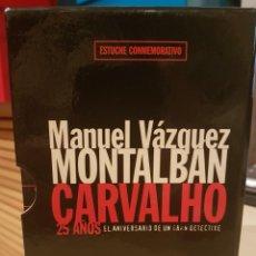 Libros de segunda mano: CARVALHO 25 ANIVERSARIO MANUEL VAZQUEZ MONTALBAN. Lote 202447651