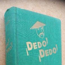 Libros de segunda mano: HARRY STEPHEN KEELER Nº 28 - ¡ DEDO ! ¡DEDO ! - AÑO 1954 - MUY BUEN ESTADO - EDI. REUS - MADRID. Lote 202871741