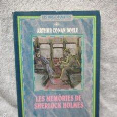 Libros de segunda mano: ELS ARGONAUTES CLASSICS DE LA LITERATURA JUVENIL Nº 14 LES MEMÒRIES DE SHERLOCK HOLMES. Lote 202909275