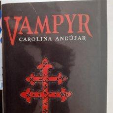 Livres d'occasion: VAMPYR NOVELA GOTICA MISTERIO INTRIGA AMOR VAMPIROS EUROPA SXIX REGALO MARCA PAGINAS. Lote 202982950