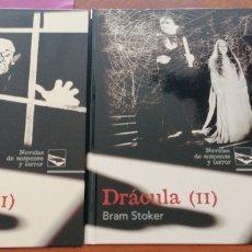 Libros de segunda mano: DRÁCULA I Y II DE BRAM STOKER. Lote 203374862