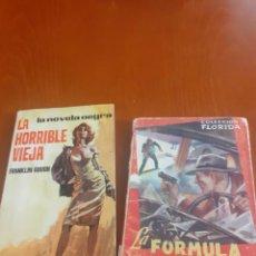 Libros de segunda mano: LOTE 2 NOVELAS DE QUIOSCO SERIE NEGRA AÑOS 60. Lote 204372505