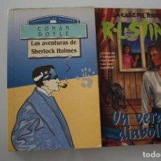 Libros de segunda mano: LAS AVENTURAS DE SHERLOCK HOLMES - UN VERANO DIABOLICO. Lote 204397885