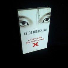 Libros de segunda mano: KEIGO HIGASHINO - LA DEVOCION DEL SOSPECHOSO X - EDICINES B 2011. Lote 204464130