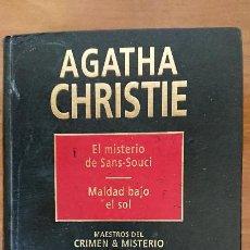 Libros de segunda mano: EL MISTERIO DE SANS-SOUCI – MALDAD BAJO EL SOL – AGATHA CHRISTIE – MAESTROS DEL CRIMEN & MISTERIO –. Lote 204824645