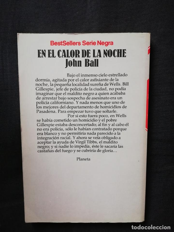 Libros de segunda mano: EN EL CALOR DE LA NOCHE - JOHN BALL - Foto 2 - 205181875