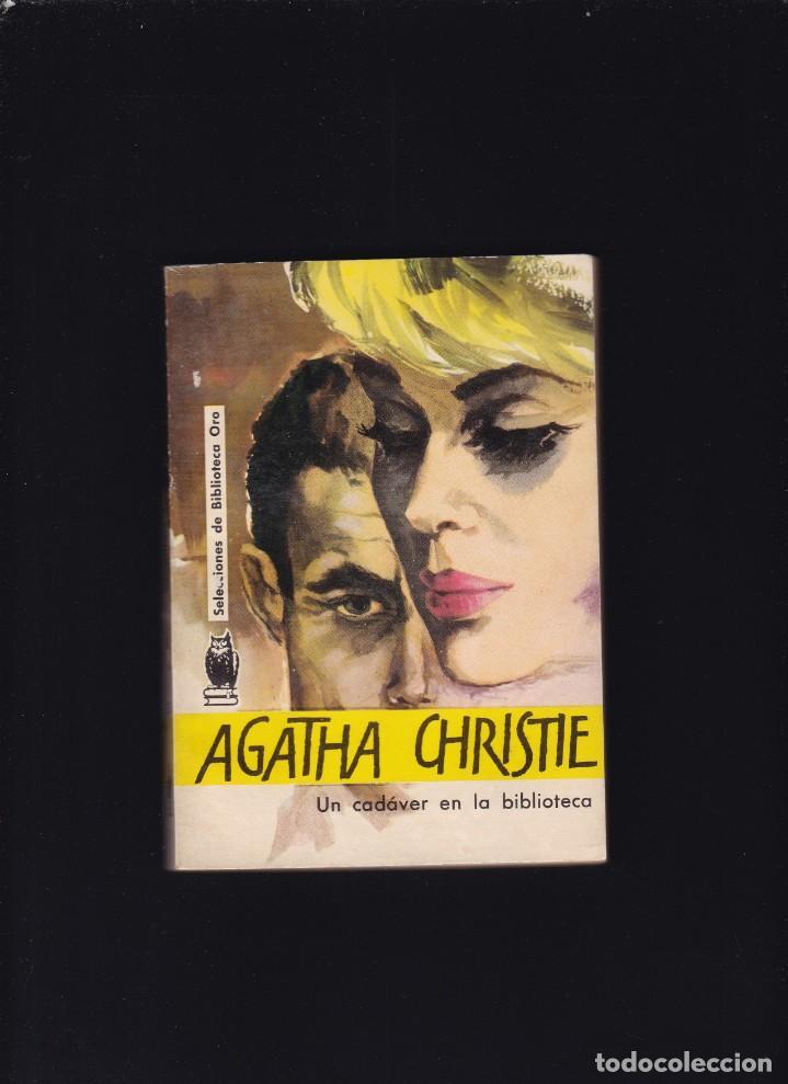AGHATA CHRISTIE - UN CADAVER EN LA BIBLIOTECA - EDITORIAL MOLINO 1962 (Libros de segunda mano (posteriores a 1936) - Literatura - Narrativa - Terror, Misterio y Policíaco)