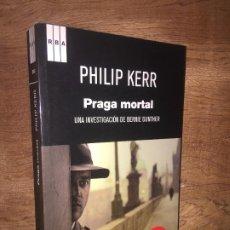Livres d'occasion: ¡¡ LIQUIDACION !! - PRAGA MORTAL - PHILIP KERR - RBA / SERIE NEGRA - COMO NUEVO. Lote 206117937