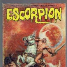 Libros de segunda mano: ESCORPION RELATOS DE TERROR SICOLOGICO N,51 Y 53 EDITORIAL VILMAR AÑO 1981. Lote 206123188