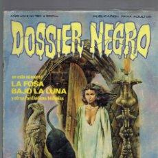 Libros de segunda mano: 3 COMICS DOSSIER NEGRO N,97,163,172, GIESA COEDIS S.A. 1970. Lote 206124022