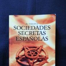 Libros de segunda mano: UNA HISTORIA DE LAS SOCIEDADES SECRETAS ESPAÑOLAS-LEÓN ARSENAL E HIPÓLITO SÁNCHIZ. Lote 206265687