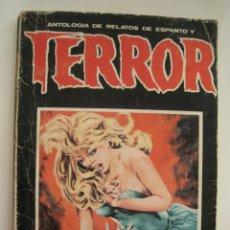 Libros de segunda mano: ANTOLOGÍA DE RELATOS DE ESPANTO Y TERROR Nº 30 - ED. DRONTE 1975. Lote 206297065