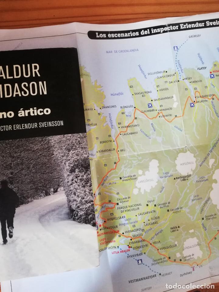 Libros de segunda mano: INVIERNO ÁRTICO - ARNALDUR INDRIDASON - Foto 3 - 206911983