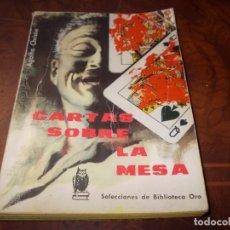 Libros de segunda mano: CARTAS SOBRE LA MESA, AGATHA CHRISTIE. Nº 122 EDITORIAL MOLINO 1.961. Lote 206916780