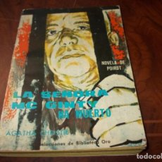 Libros de segunda mano: LA SEÑORA MC. GITY HA MUERTO, AGATHA CHRISITE. NOVELA POIROT. Nº 126 EDITORIAL MOLINO 1.959. Lote 206917103