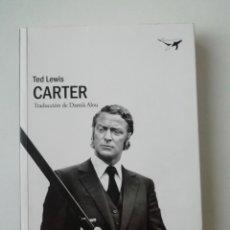 Libros de segunda mano: CARTER - TED LEWIS - ED. SAJALÍN 2018. Lote 207238366