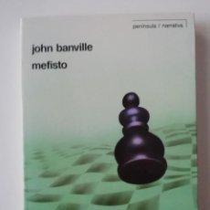 Libros de segunda mano: MEFISTO - JOHN BANVILLE - ED. PENÍNSULA 1990. Lote 207238781