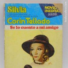 Libros de segunda mano: CORIN TELLADO- SERIE SILVIA - N.263. Lote 207350980