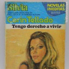 Libros de segunda mano: CORIN TELLADO- SERIE SILVIA - N.407. Lote 207351017