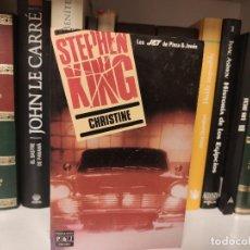 Libros de segunda mano: STEPHEN KING - CHRISTINE. LIBRO BOLSILLO JET PLAZA Y JANÉS. Lote 207353575