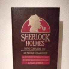 Libros de segunda mano: LIBRO - OBRAS COMPLETAS TOMO III -SHERLOCK HOLMES - OBRAS COMPLETAS TOMO III - ARTHUR CONAN DOYLE. Lote 207355042