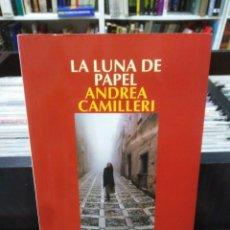 Livros em segunda mão: LA LUNA DE PAPEL - ANDREA CAMILLERI. Lote 207924190
