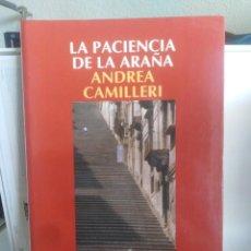Livros em segunda mão: LA PACIENCIA DE LA ARAÑA - ANDREA CAMILLERI - POLICÍACO - BUEN ESTADO. Lote 208156678