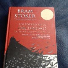 Libros de segunda mano: LOS PODERES DE LA OSCURIDAD. BRAM STOKER Y VALDIMAR ÁSMUNDSSON. Lote 208195671